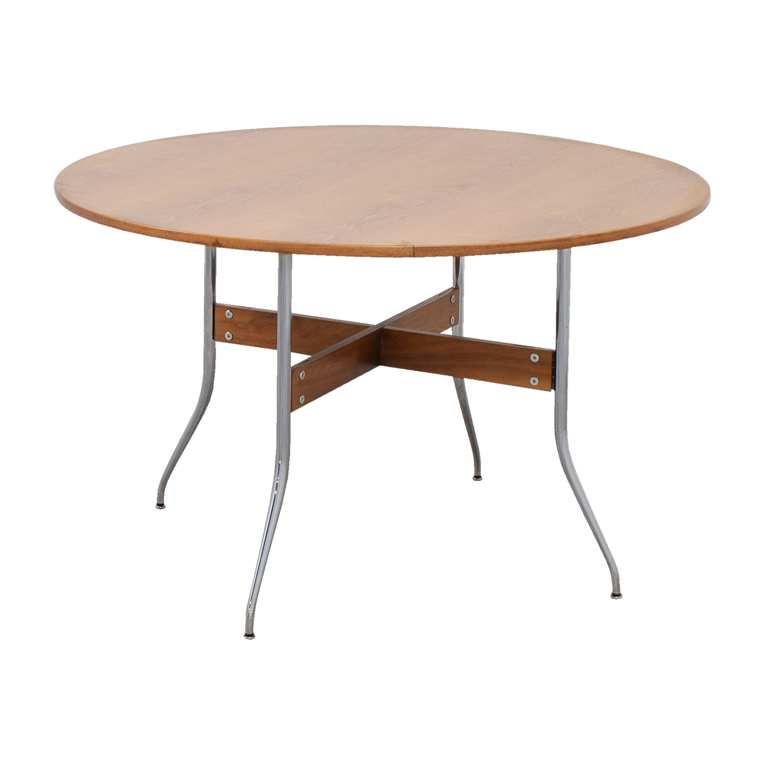 ... Herman Miller Nelson Round Swag Leg Dining Table / Tables ...