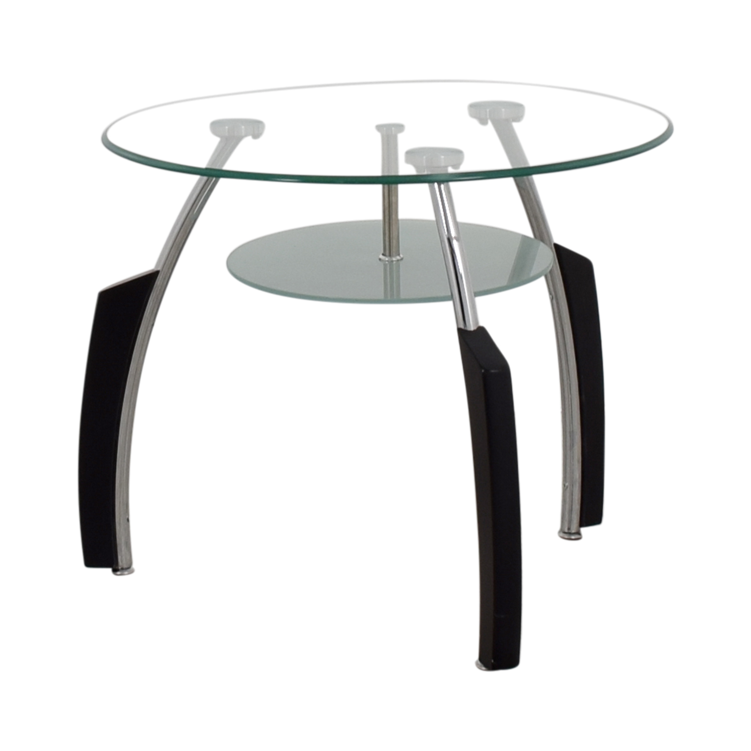 shop Round Glass End Table Tables
