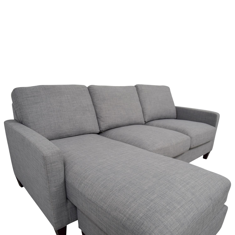 41 Off World Market World Market Light Grey Chaise