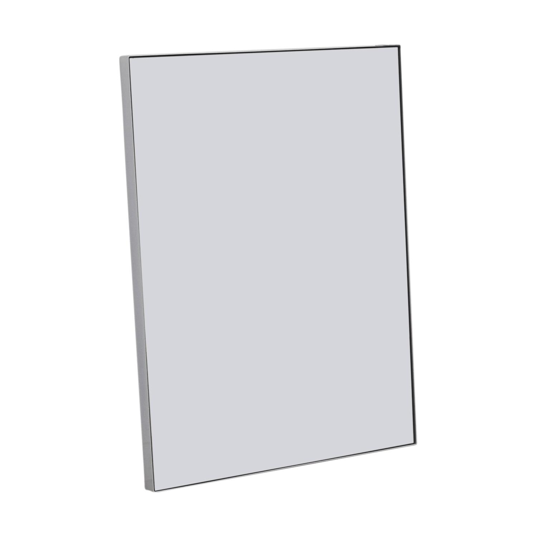 Custom White Framed Mirror for sale