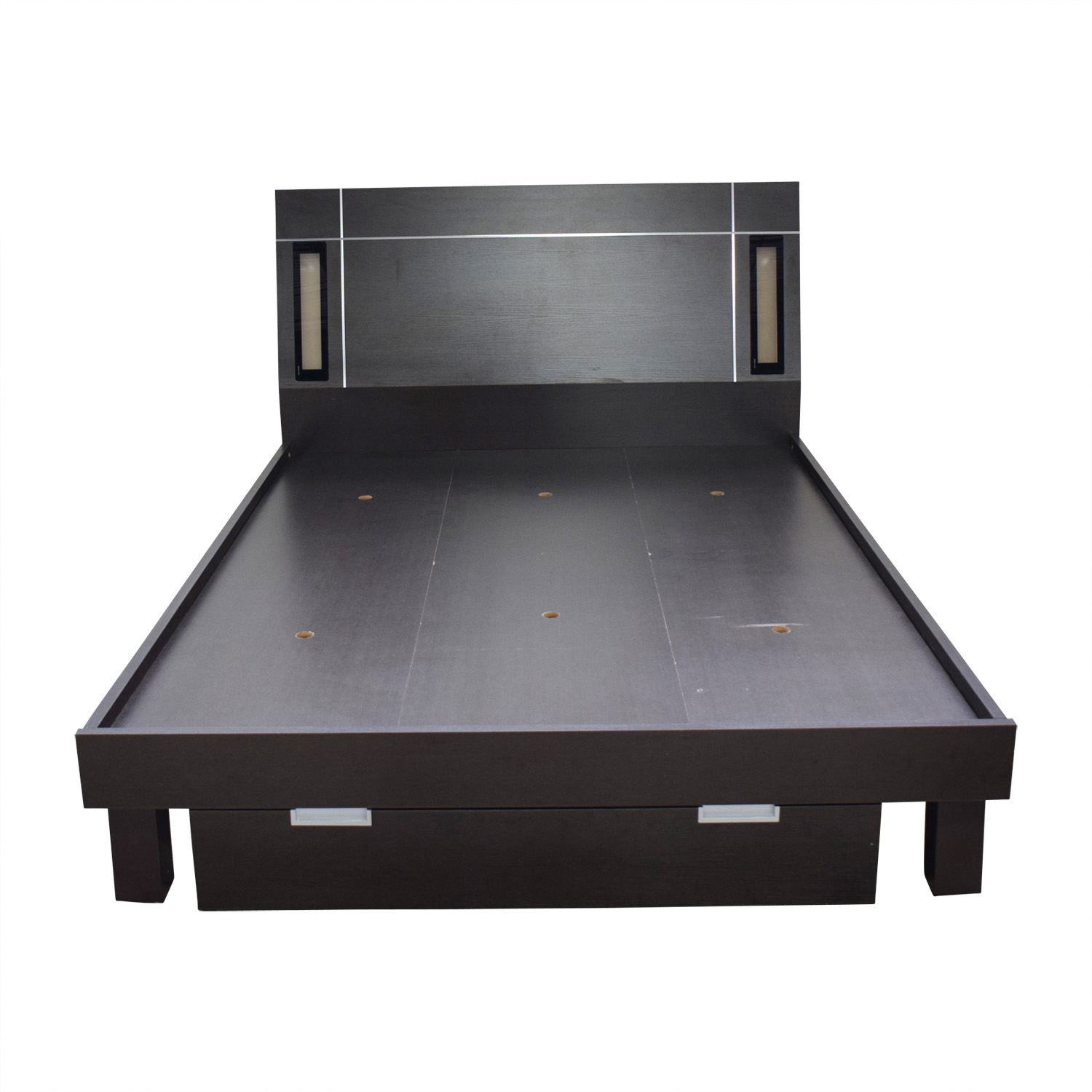 shop  Platform Queen Bed Frame with Lighting and Storage online
