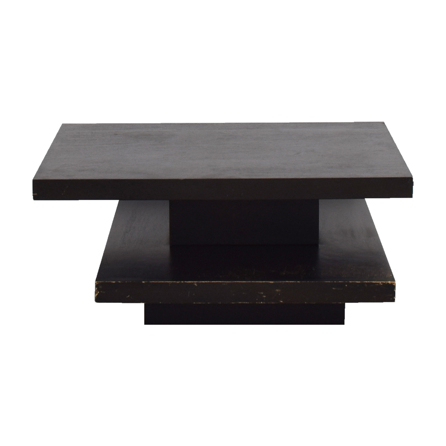 West Elm Wood Coffee Table sale