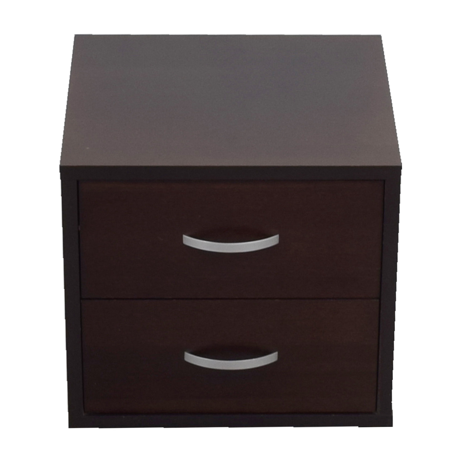 West Elm Two-Drawer Side Table sale