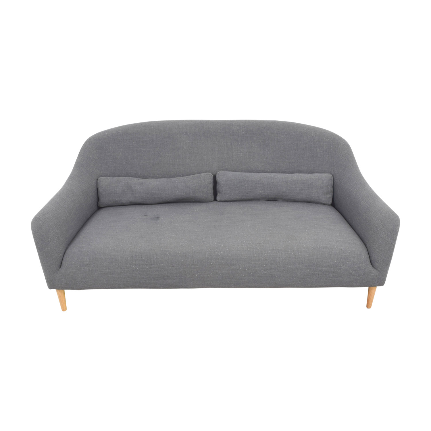 shop Crate & Barrel Pennie Single Cushion Sofa Crate & Barrel Classic Sofas