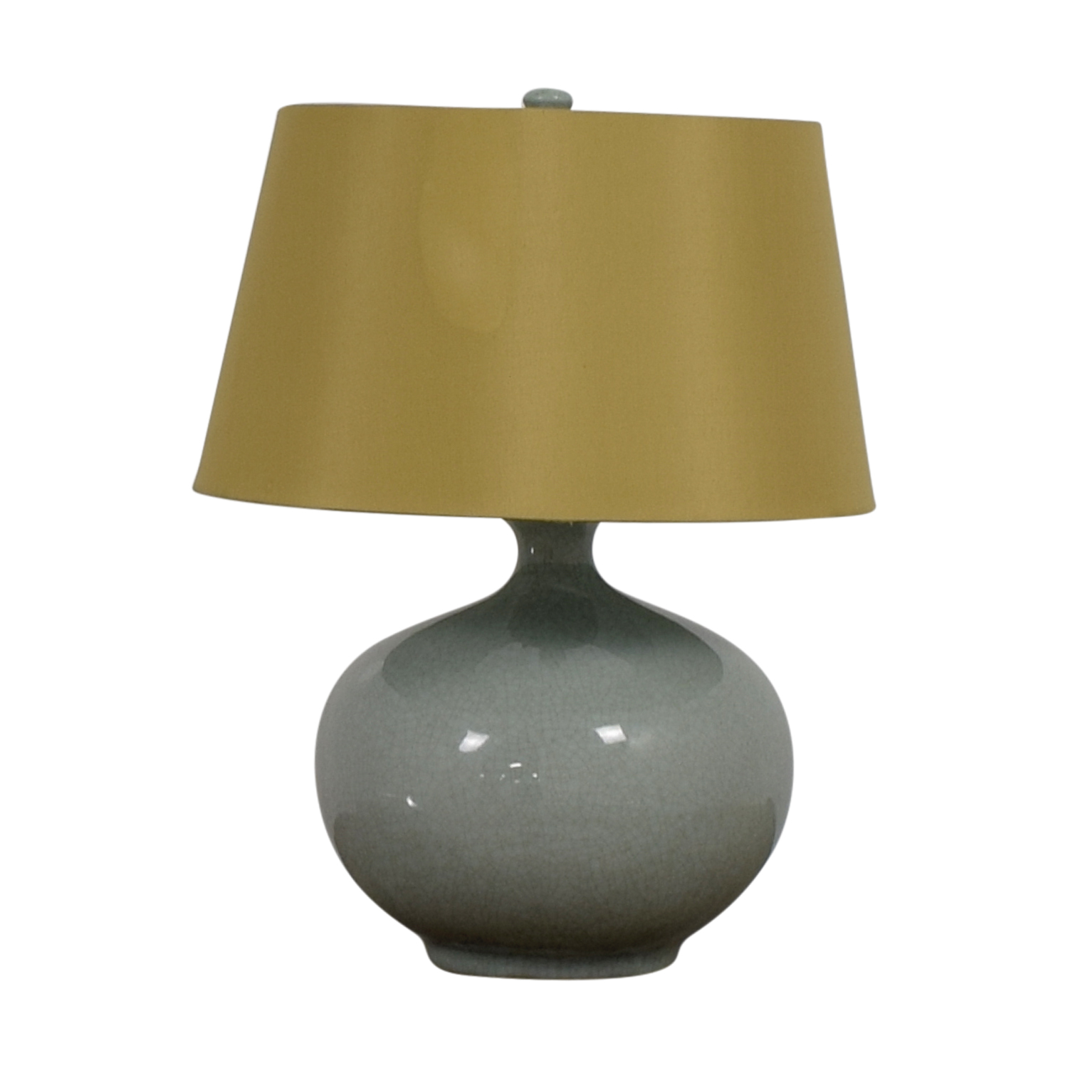 buy  Sky Blue and Wood Table Lamp online