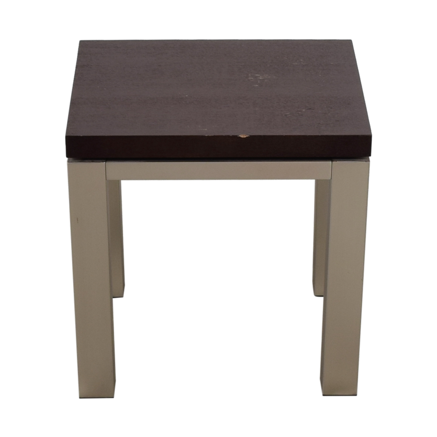 Two-Toned Side table second hand