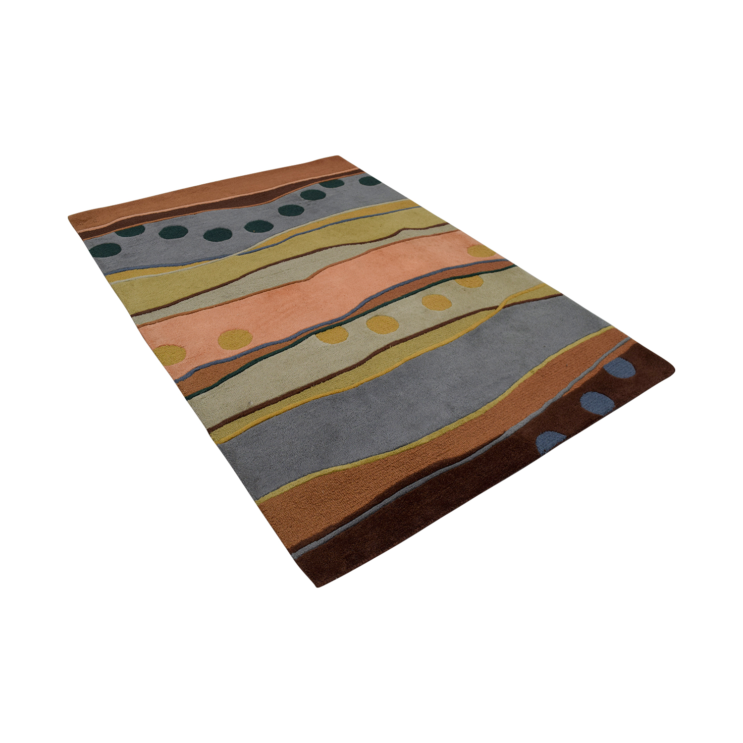 Multi-Colored Rug used
