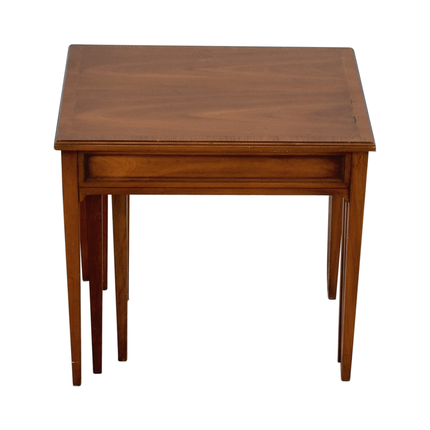 buy Three-Tiered Wood Nesting Table