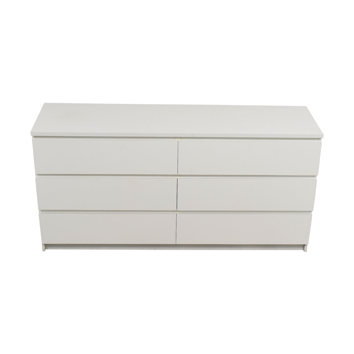 IKEA IKEA Six-Drawer White Dresser discount