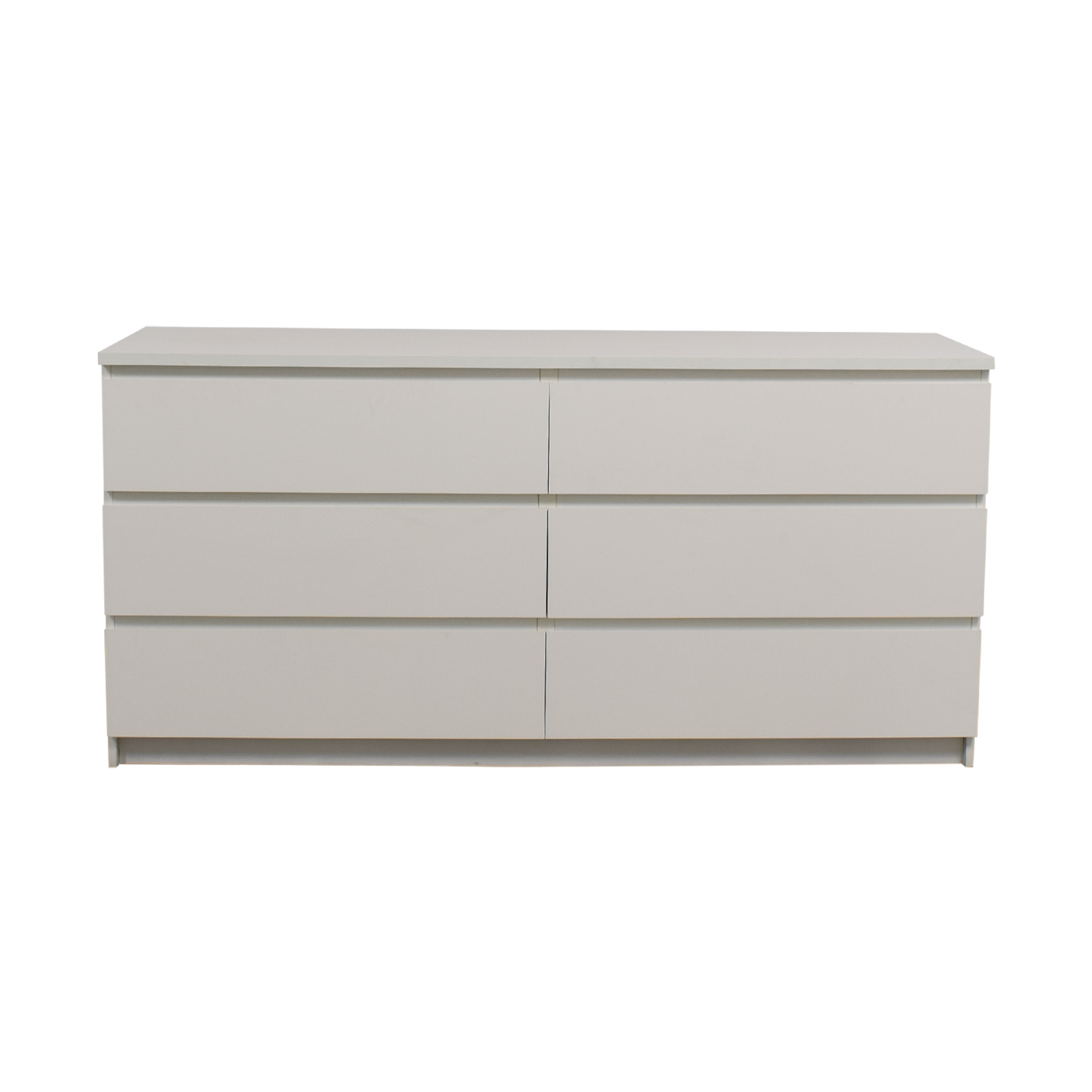 IKEA IKEA Six-Drawer White Dresser