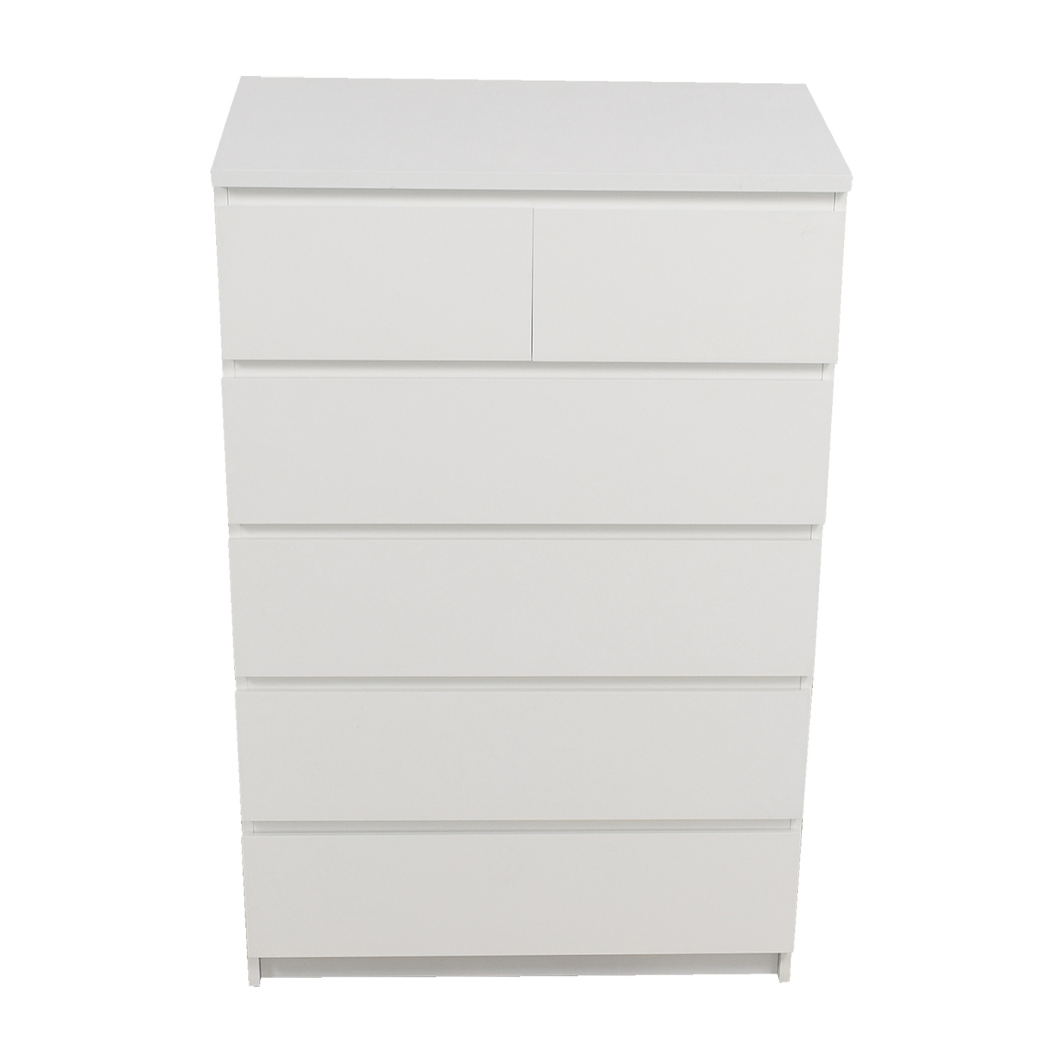 IKEA IKEA White Six-Drawer Dresser used