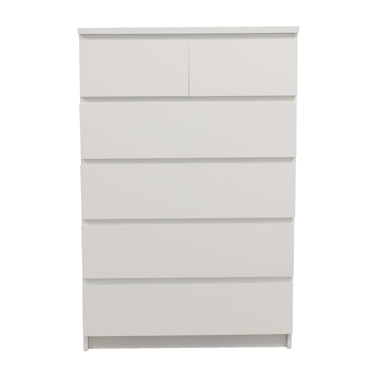 shop IKEA White Six-Drawer Dresser IKEA Dressers