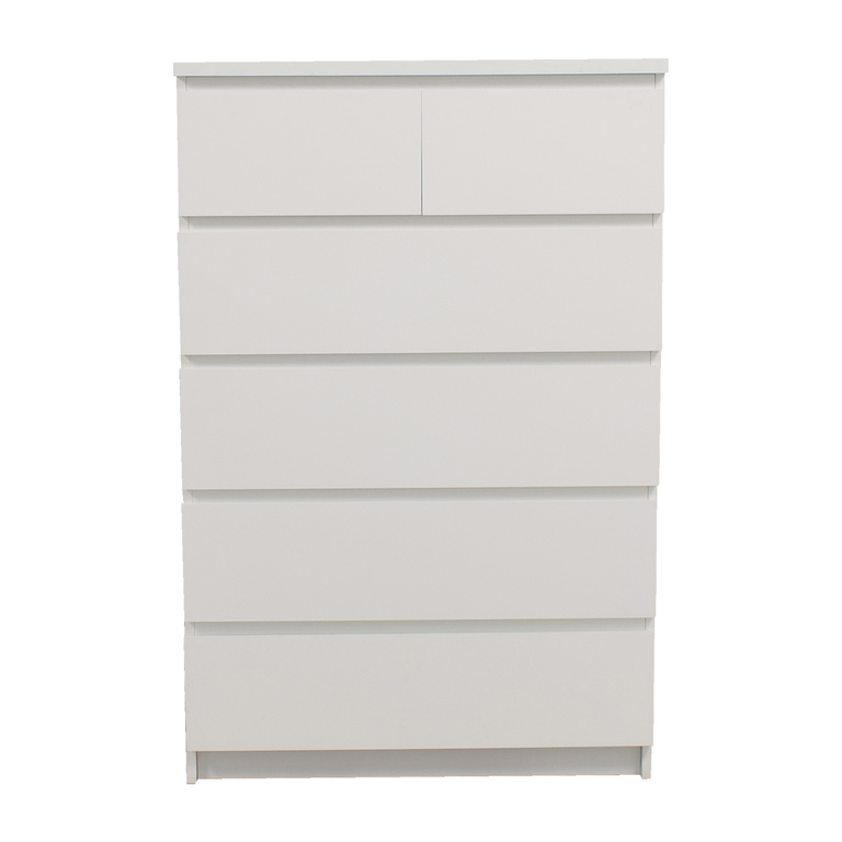 shop IKEA White Six-Drawer Dresser IKEA