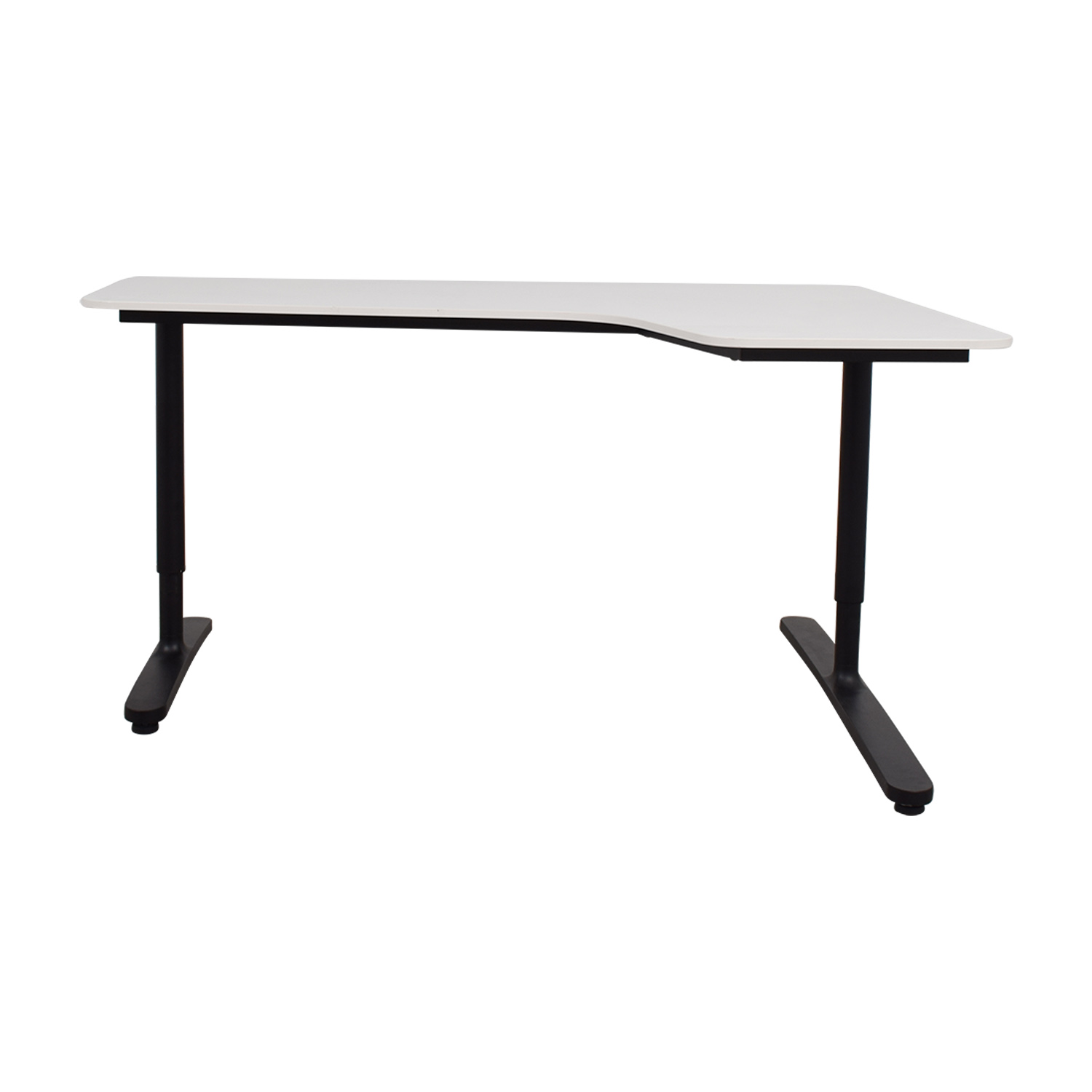 IKEA Bekant White Right Corner Desk sale