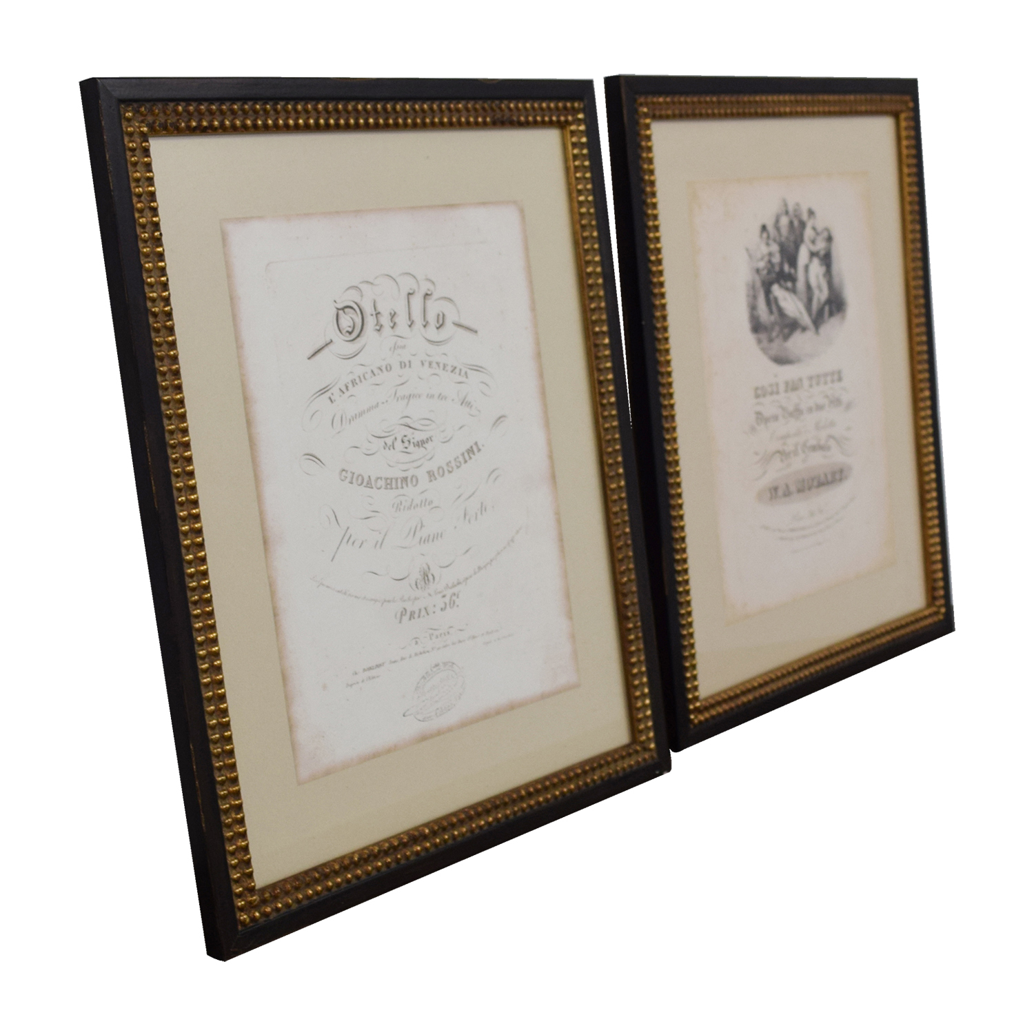 buy One Kings Lane Vintage Othello Mozart Opera Frames Prints One Kings Lane Wall Art