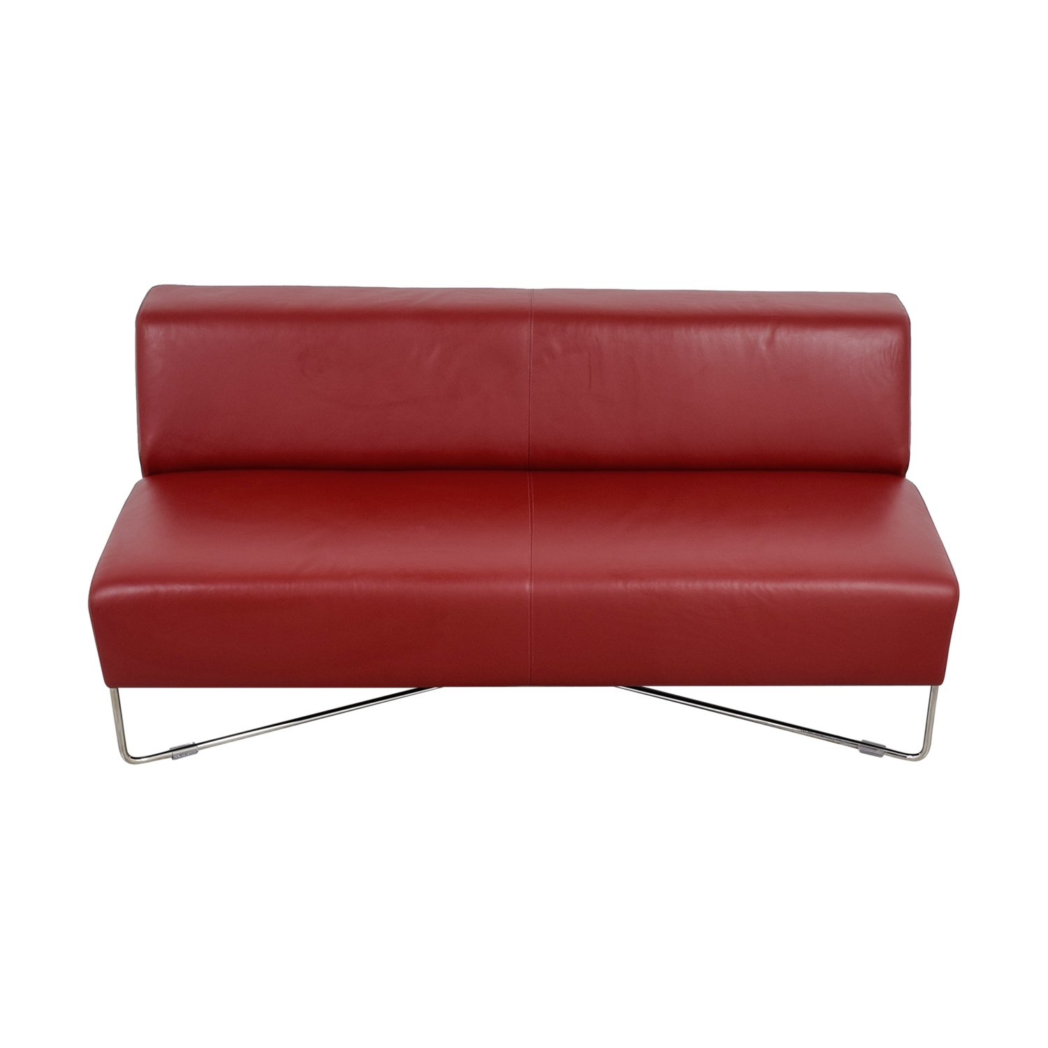 Bernhardt Bernhardt Balance Red Lounge Sofa on sale
