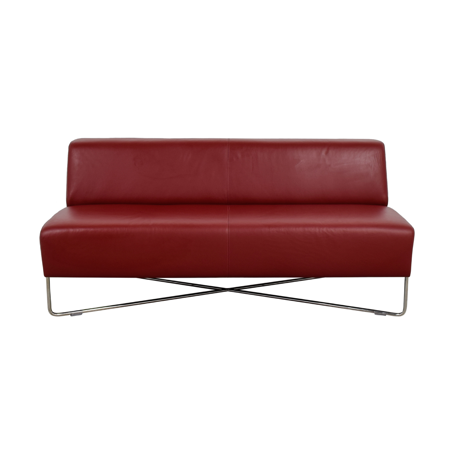 buy Bernhardt Balance Red Lounge Sofa Bernhardt Chaises