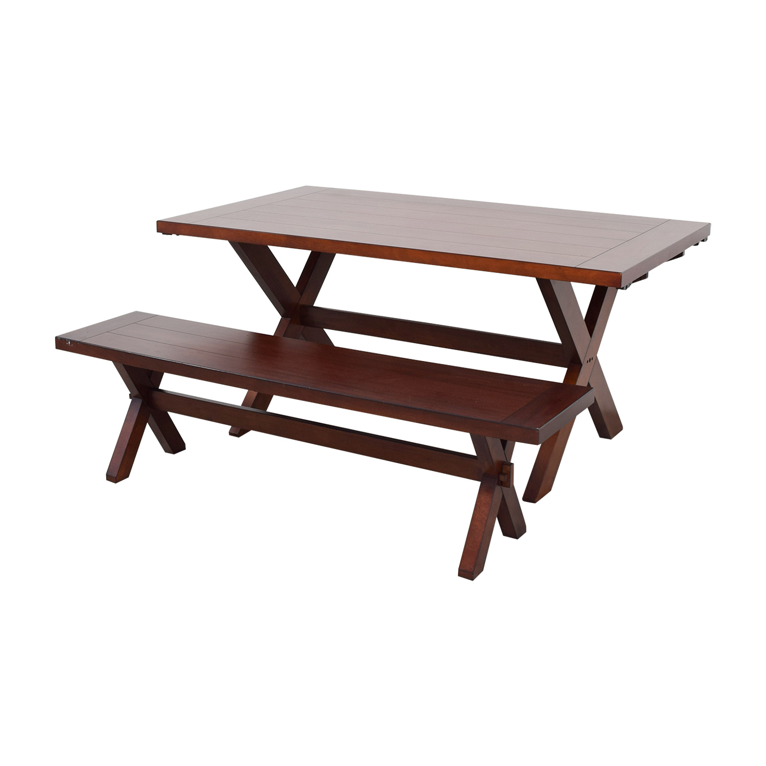 Remarkable 90 Off Pier 1 Pier 1 Imports Nolan Wood Dining Table With Bench Tables Ocoug Best Dining Table And Chair Ideas Images Ocougorg