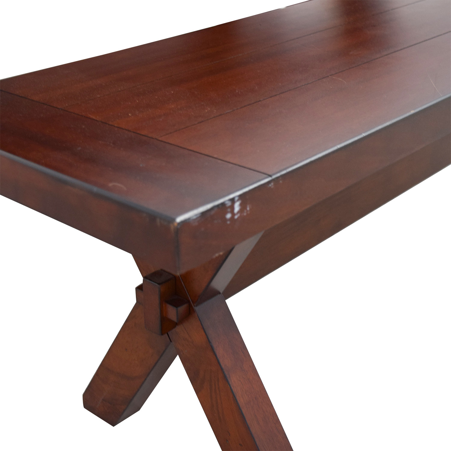 Pleasant 90 Off Pier 1 Pier 1 Imports Nolan Wood Dining Table With Bench Tables Ocoug Best Dining Table And Chair Ideas Images Ocougorg