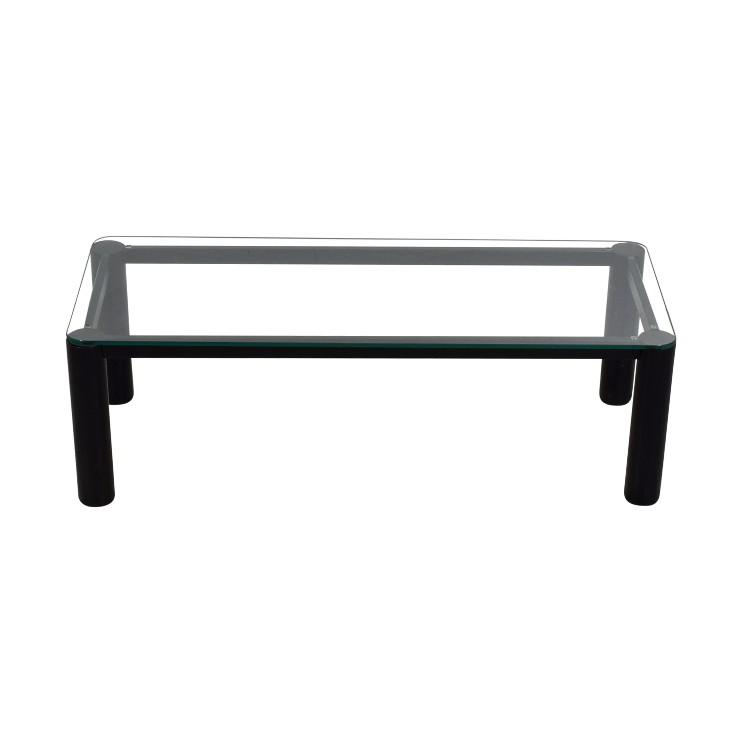 Rectangular Glass Coffee Table nyc