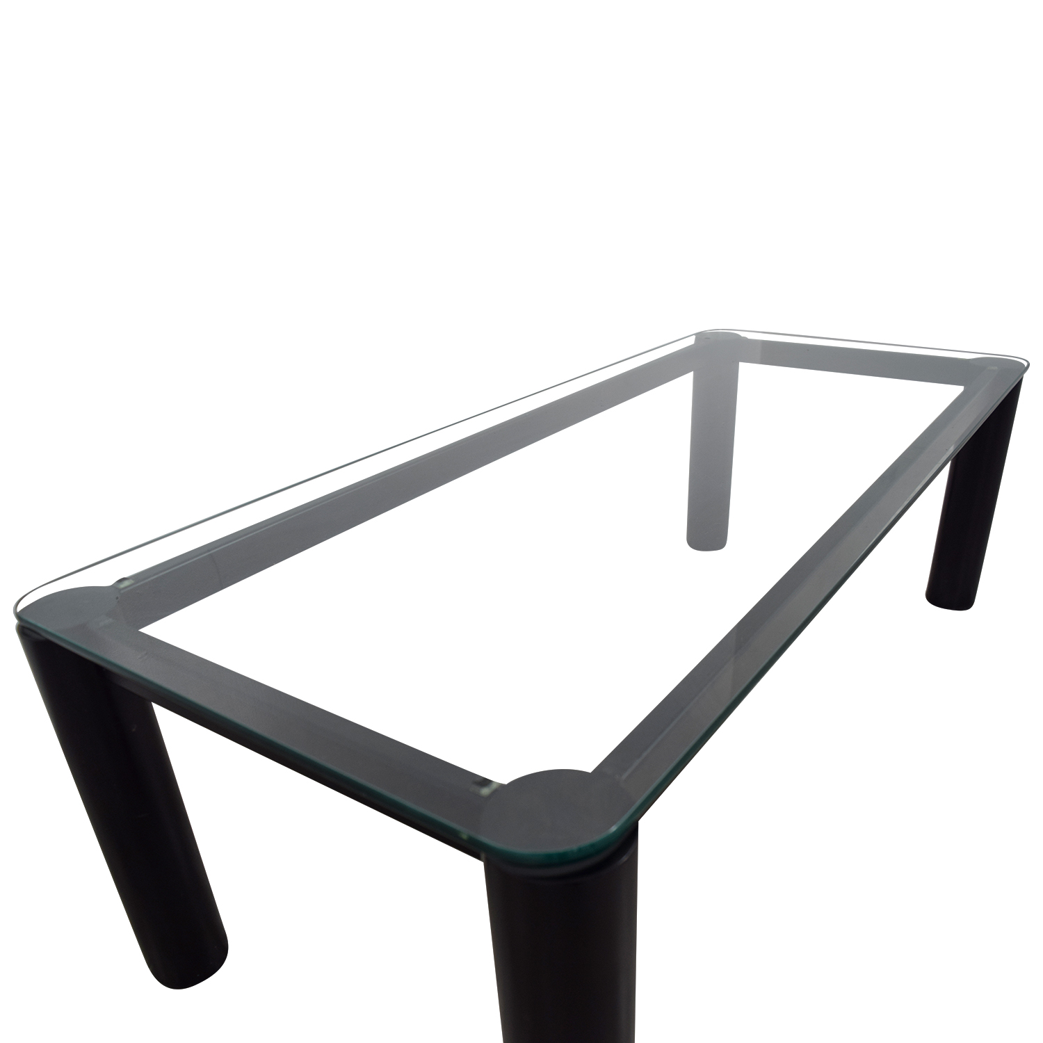 72 OFF Rectangular Glass Coffee Table Tables