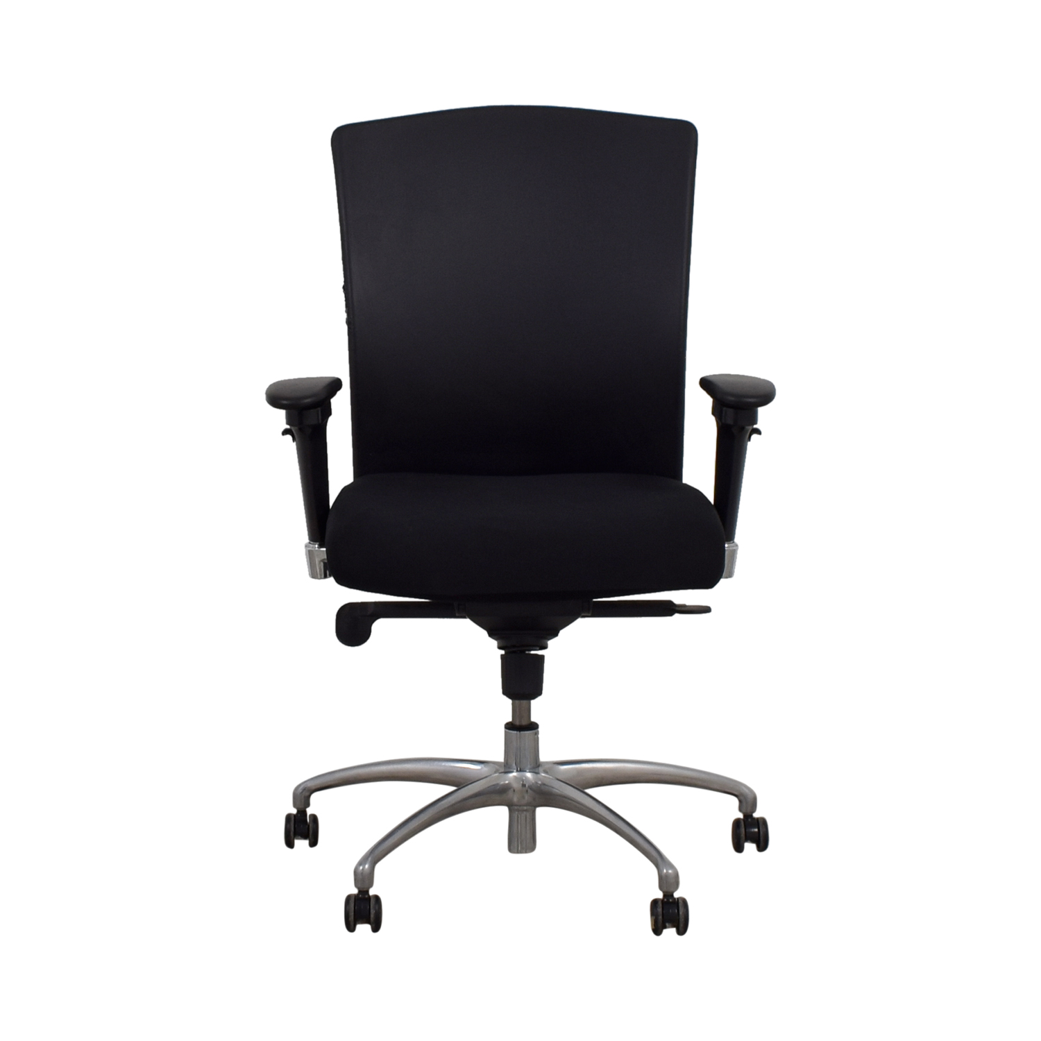 Gunlocke Company Gunlocke Company Ergonomic Black Office Chair discount