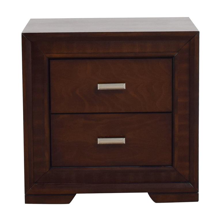 buy Bob's Furniture Brown Wood Side Table Bob's Furniture