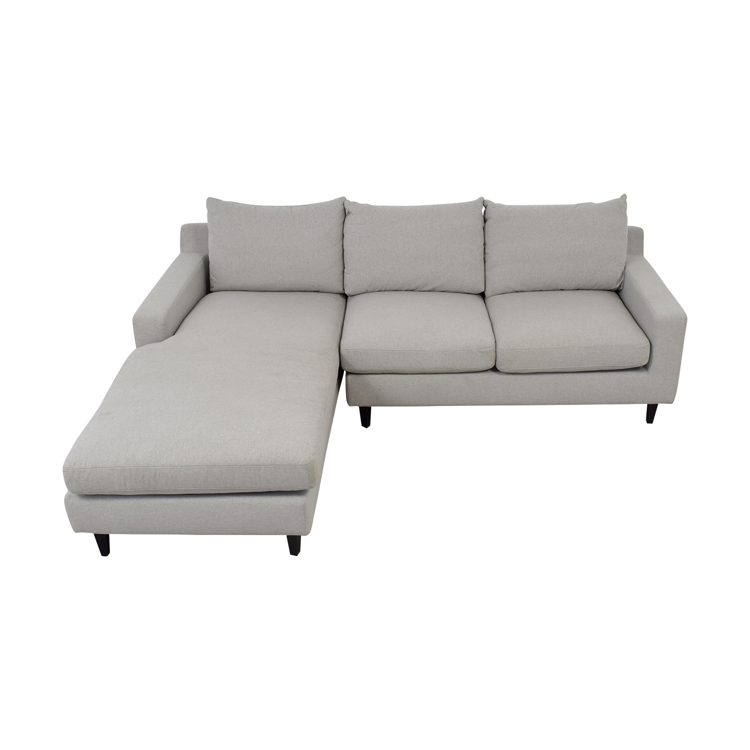 shop  Sloan Grey Chaise Sectional online