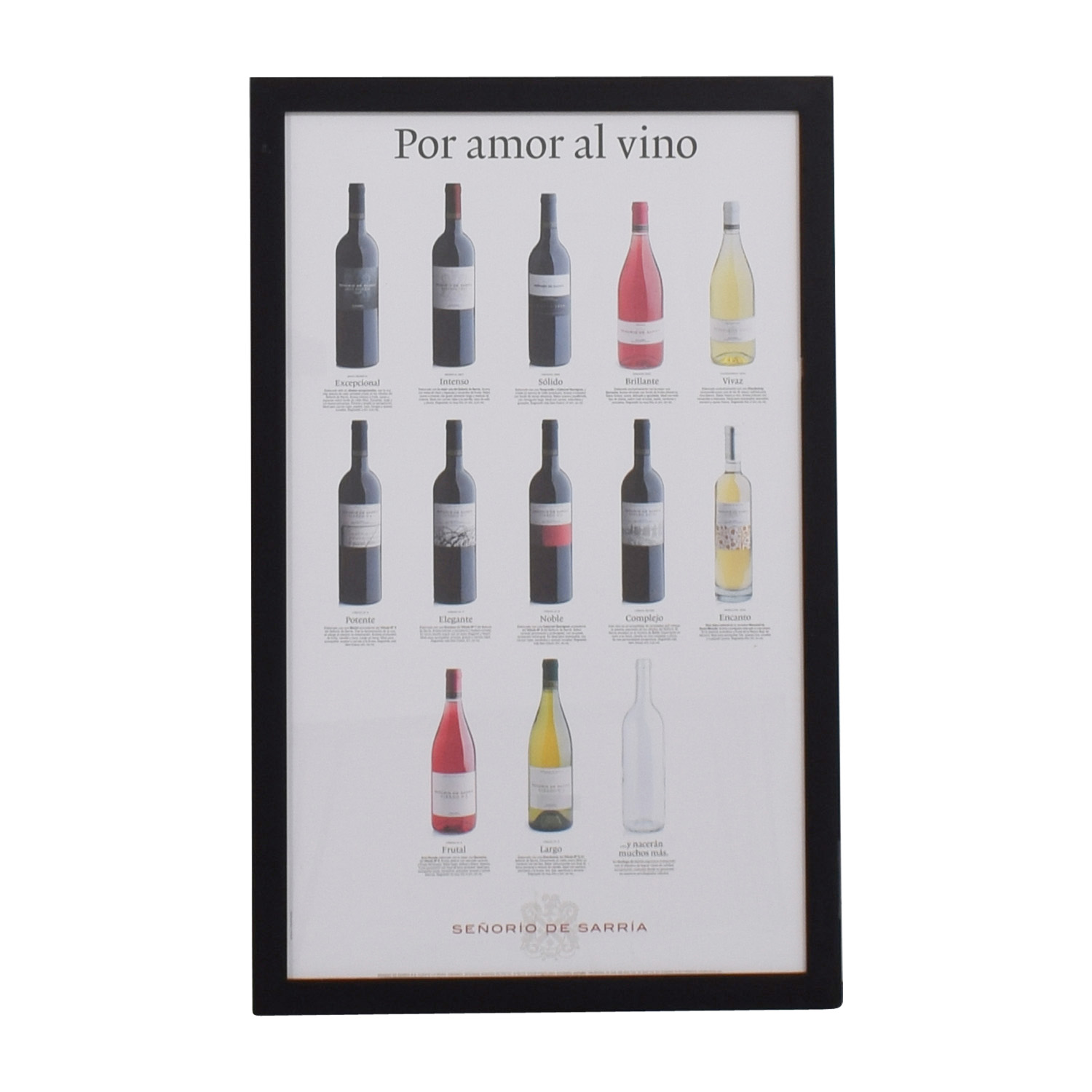 buy Framed Wine Poster online