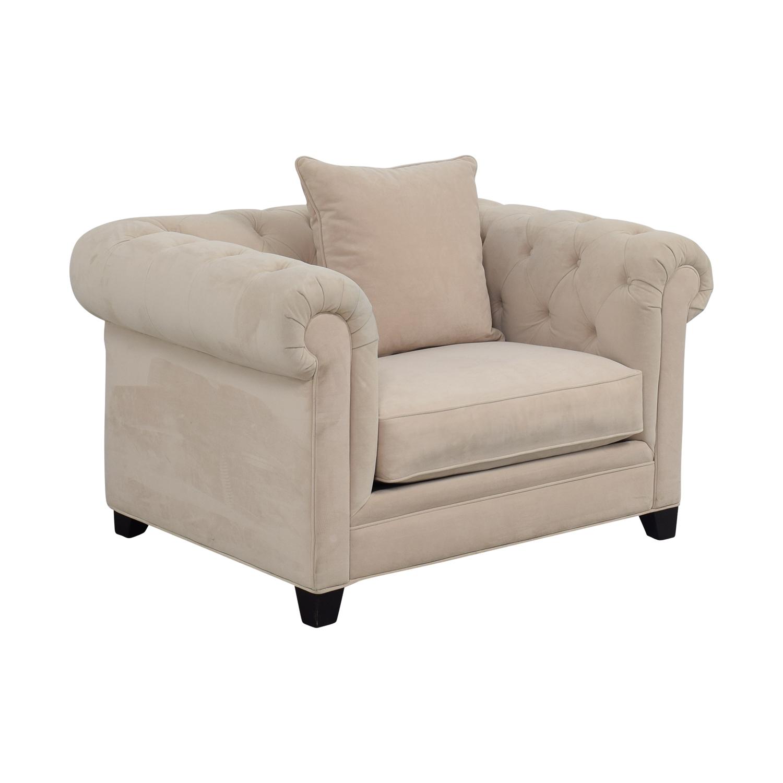 ... Buy Martha Stewart Home Martha Stewart Home Saybridge Beige Arm Chair  Online ...