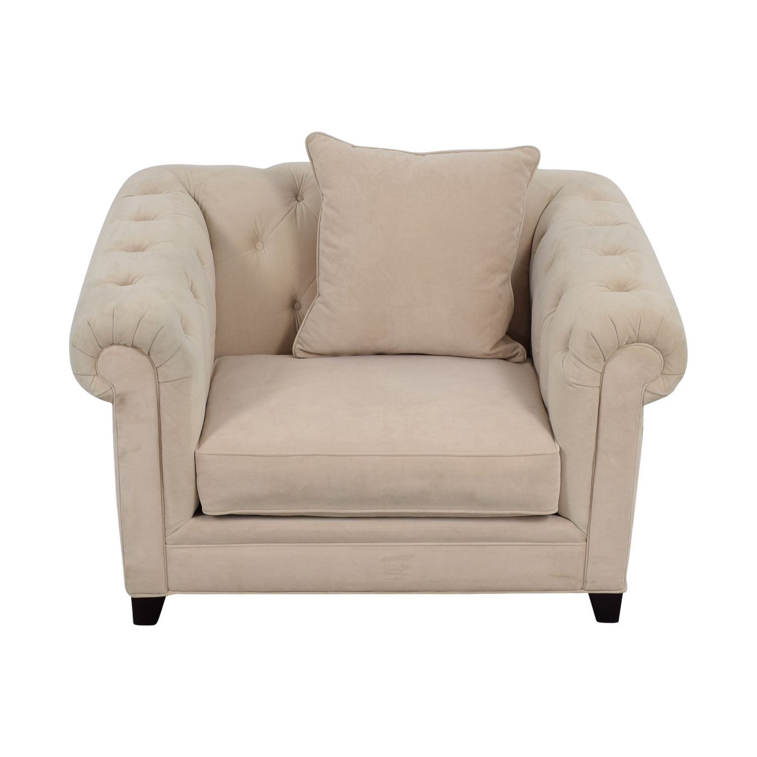 ... Martha Stewart Home Martha Stewart Home Saybridge Beige Arm Chair  Coupon ...