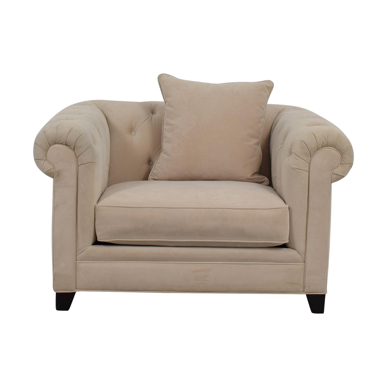 Martha Stewart Home Martha Stewart Home Saybridge Beige Arm Chair