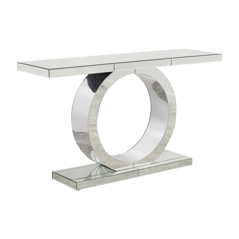 ... American Signature American Signature Olympia Mirrored Sofa Table  Second Hand ...
