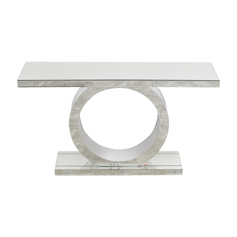 Miraculous 72 Off American Signature American Signature Olympia Mirrored Sofa Table Tables Inzonedesignstudio Interior Chair Design Inzonedesignstudiocom