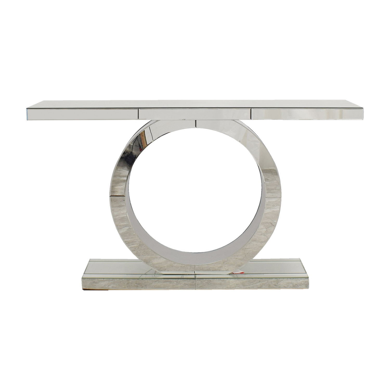 American Signature American Signature Olympia Mirrored Sofa Table price