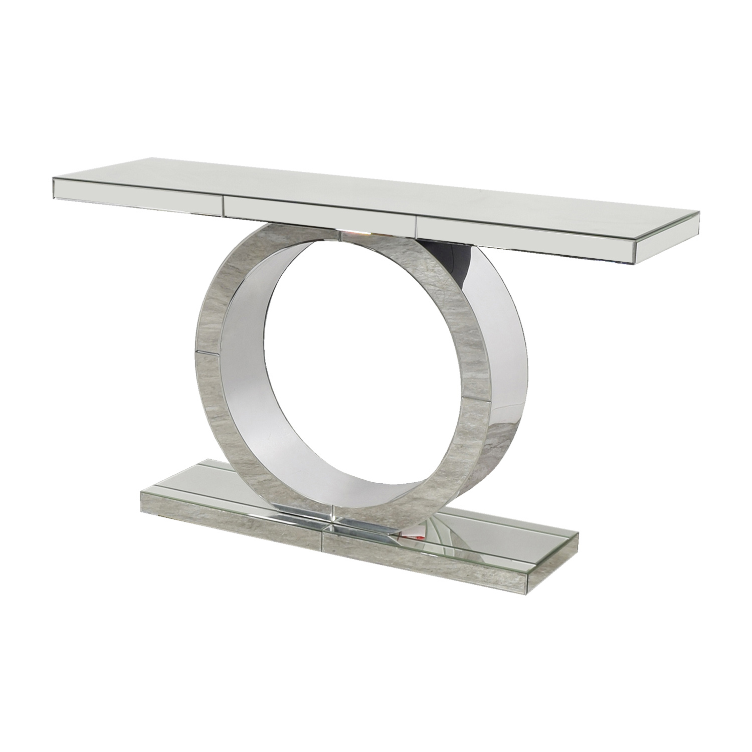 ... American Signature American Signature Olympia Mirrored Sofa Table On  Sale ...