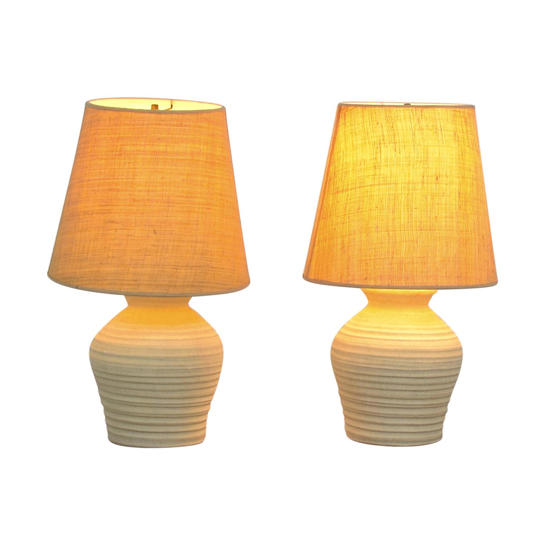 Cream Table Lamps sale