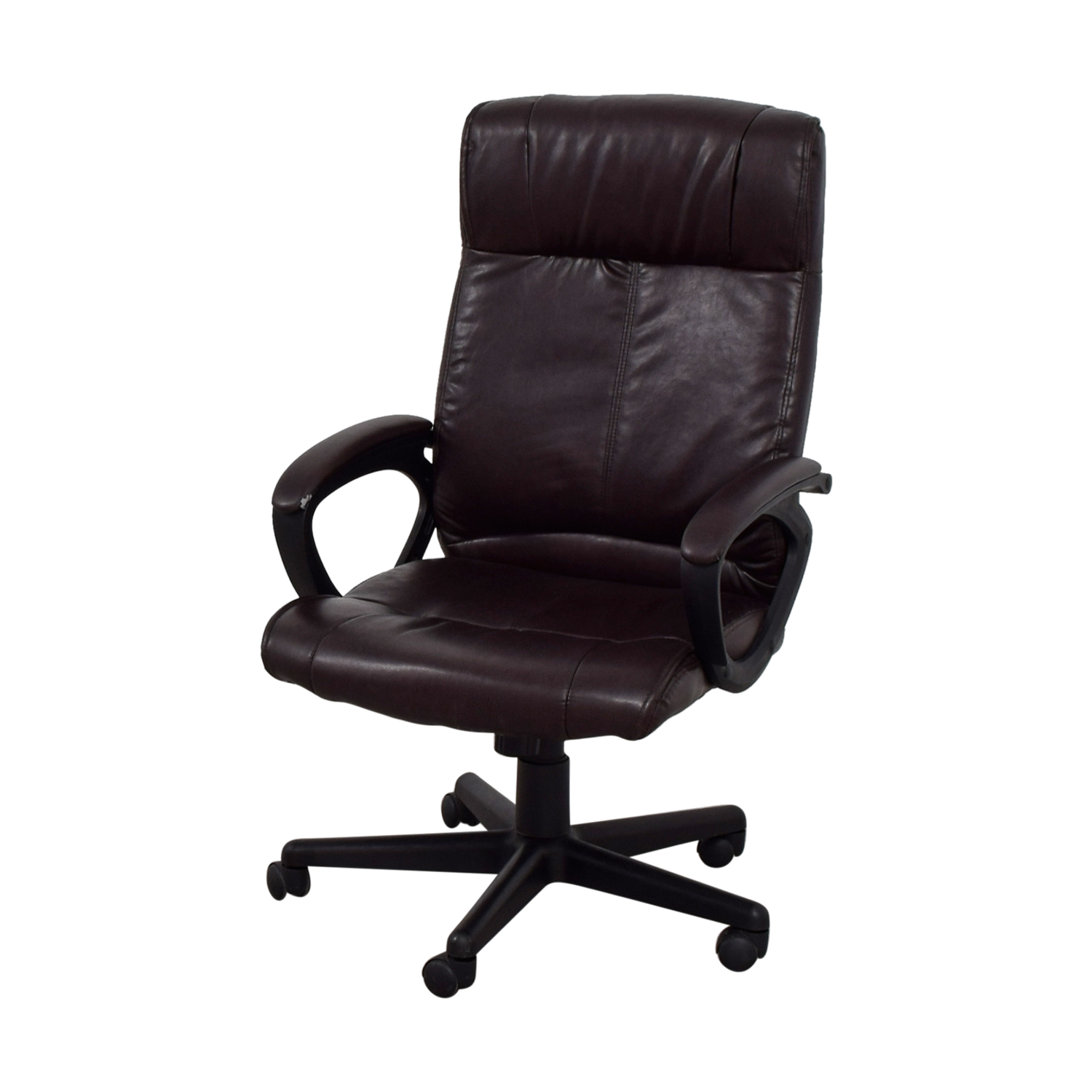 Brown Leather Desk Chair Second Hand