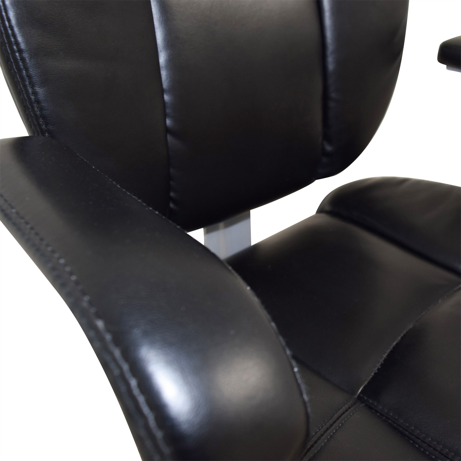 buy Black Leather Desk Chair online
