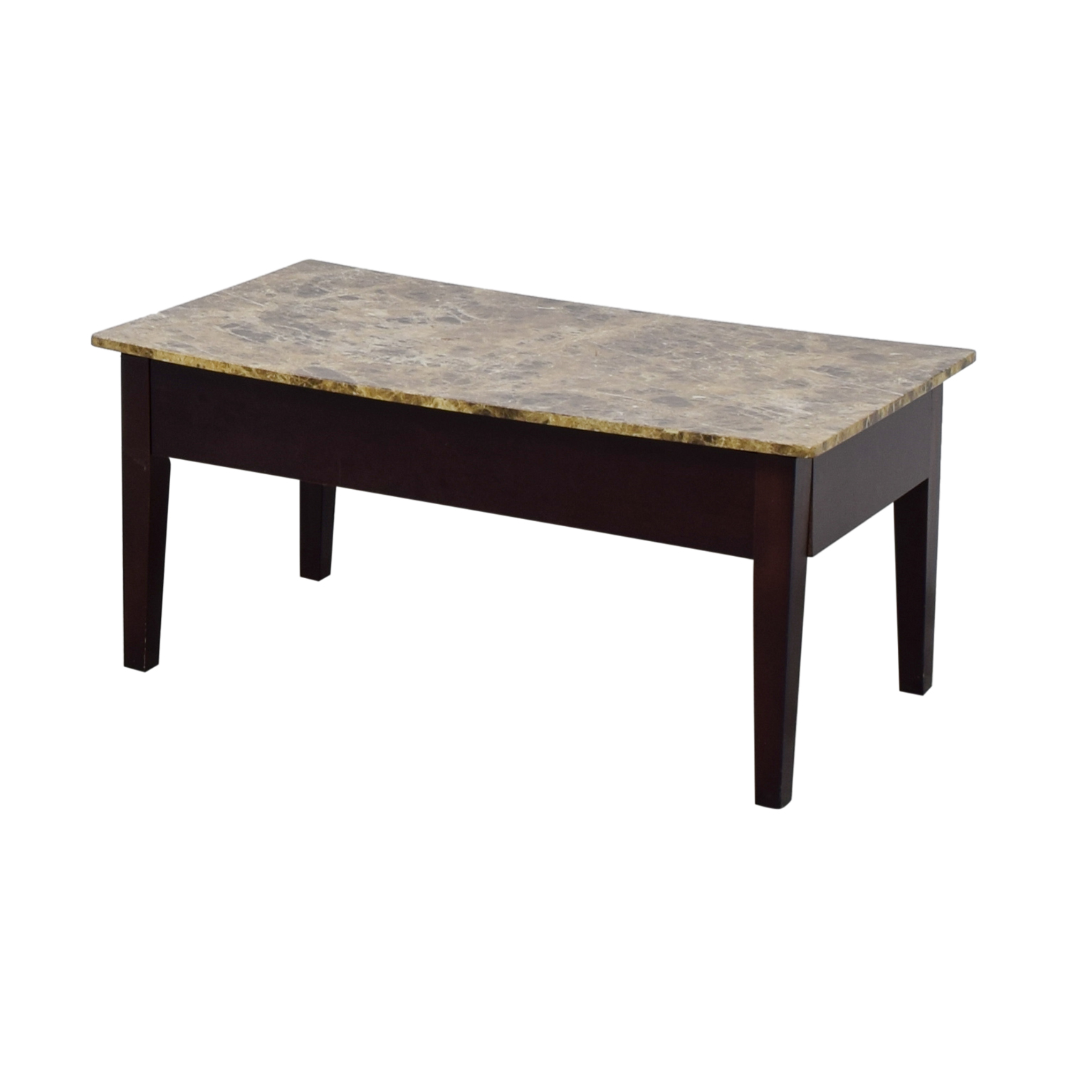 ... Shop Marble Top Coffee Table With Storage Coffee Tables ...