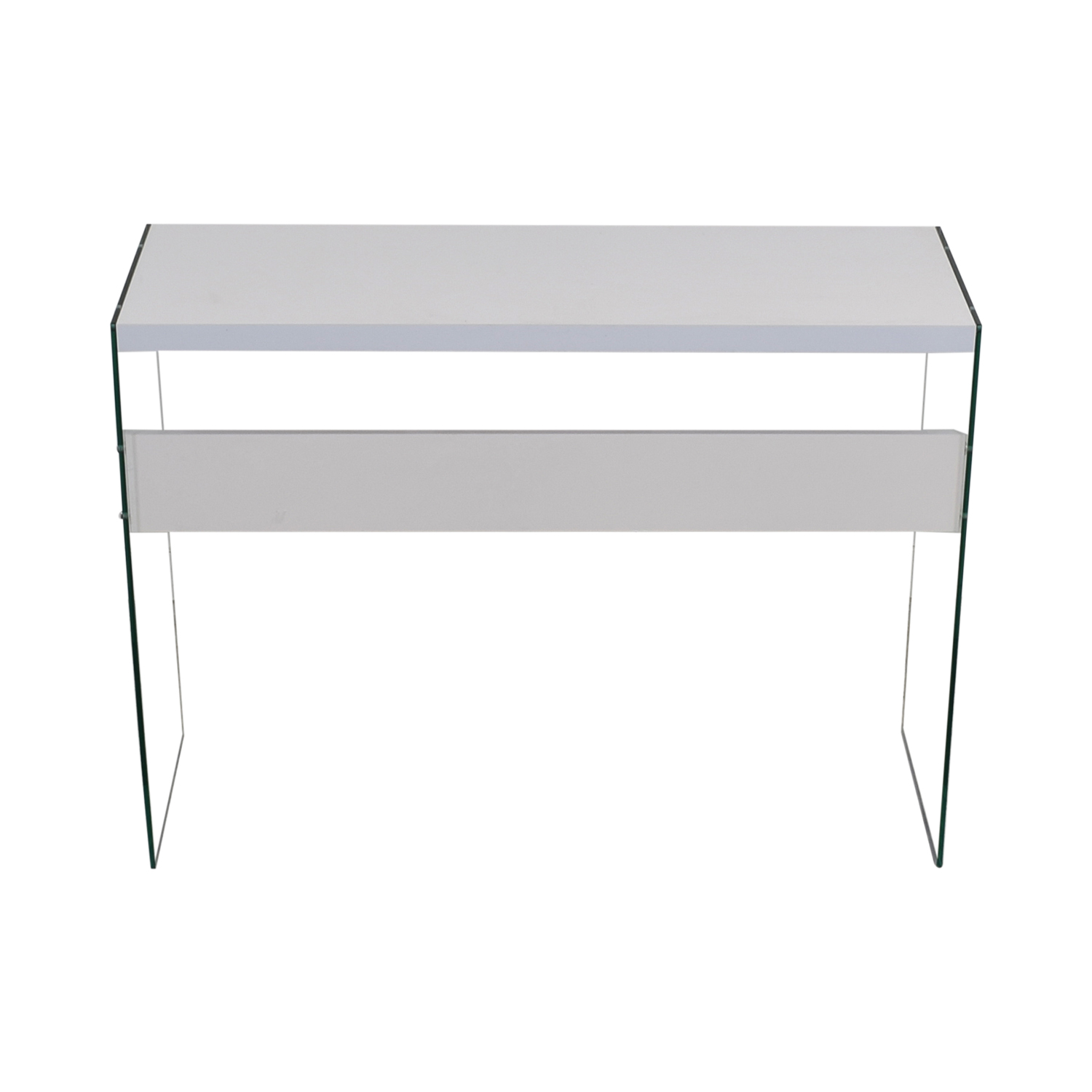 White and Ghost Table Stand / Tables