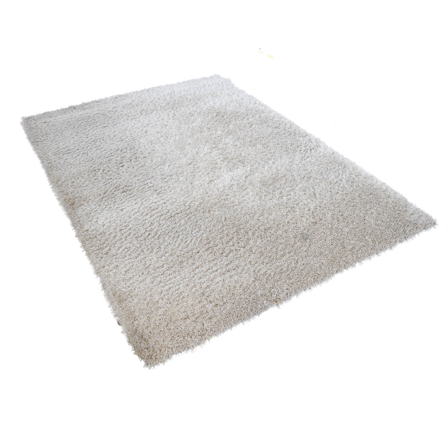 HomeGoods HomeGoods White Shag Rug coupon