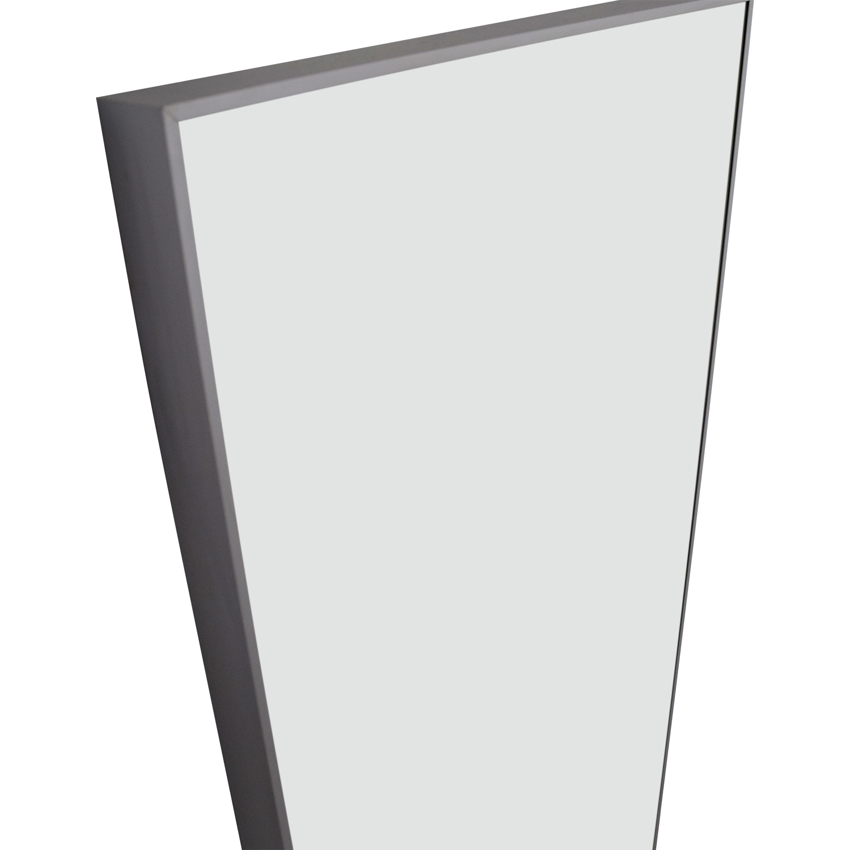 50% OFF - Floor Mirror with Chrome Border / Decor