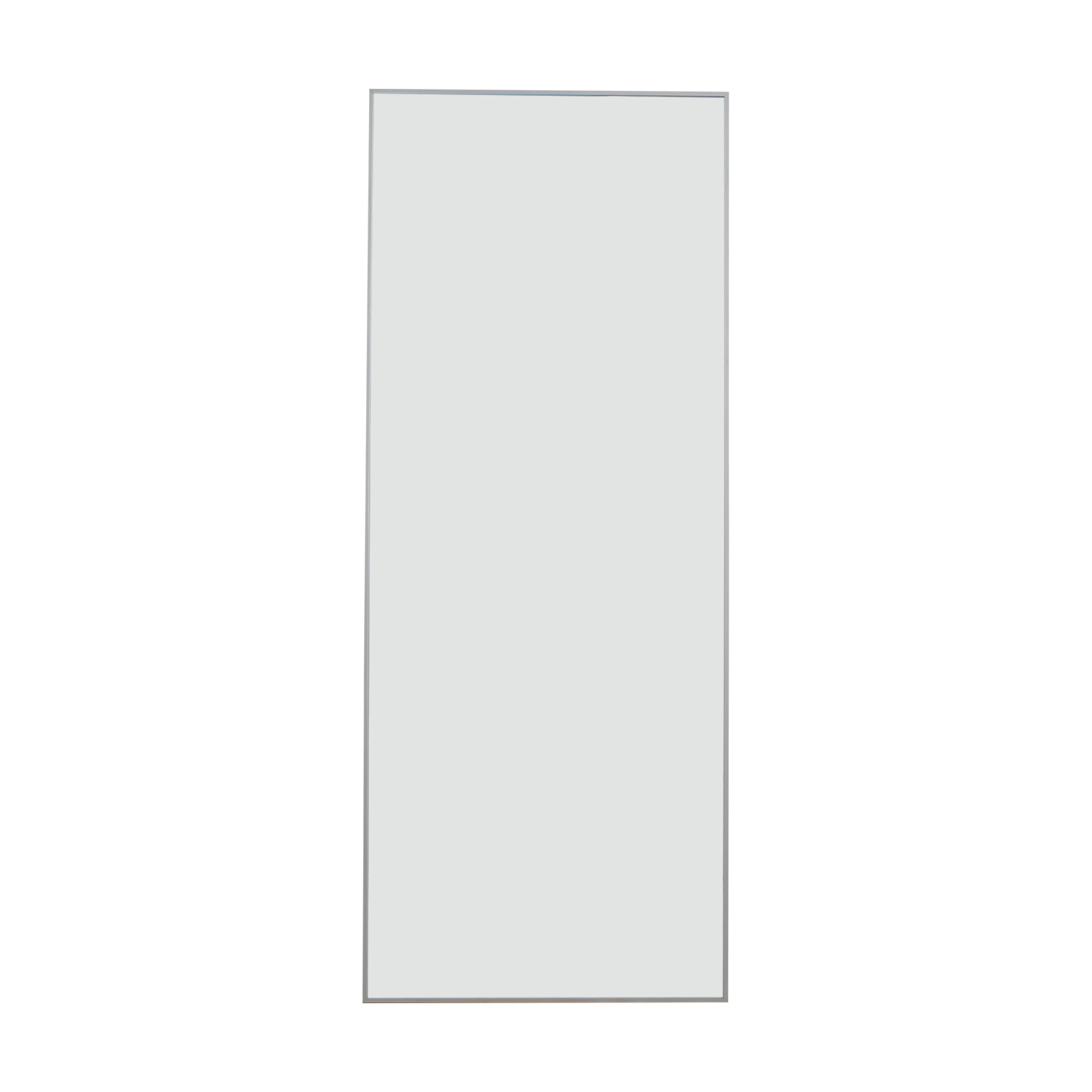 shop Floor Mirror with Chrome Border Mirrors