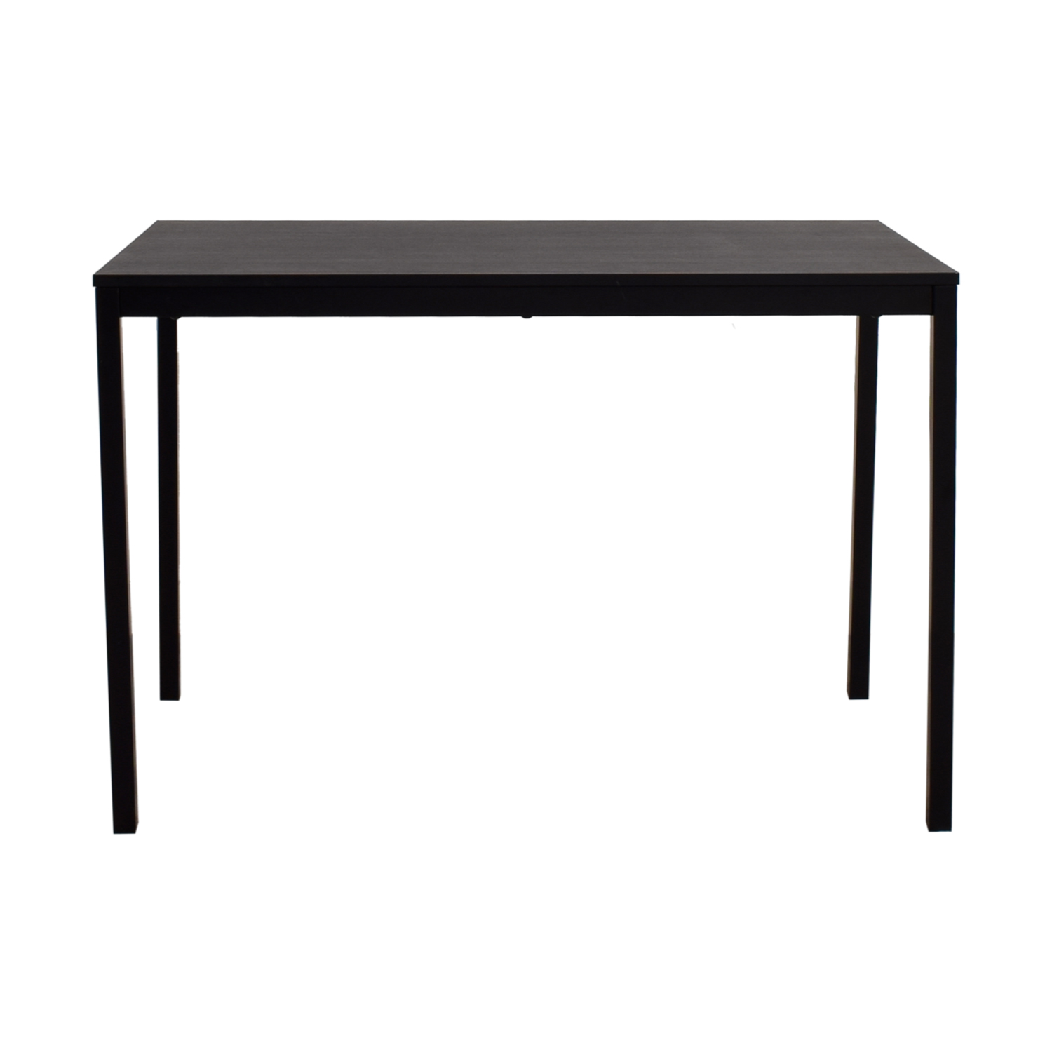 47 Off Ikea Tarendo Black Dining Table Tables
