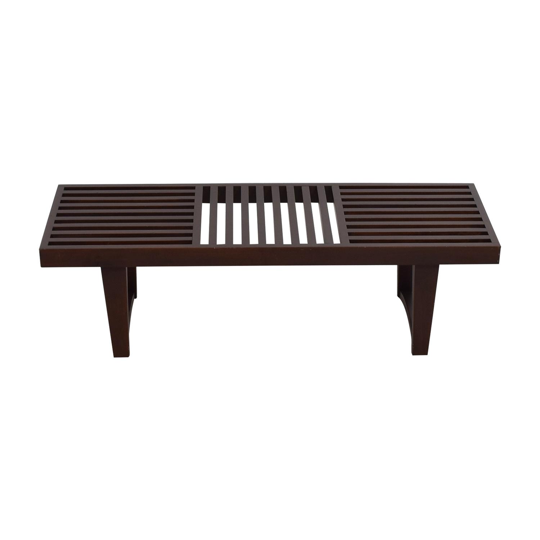 Geometric Wood Versatile Bench Chairs