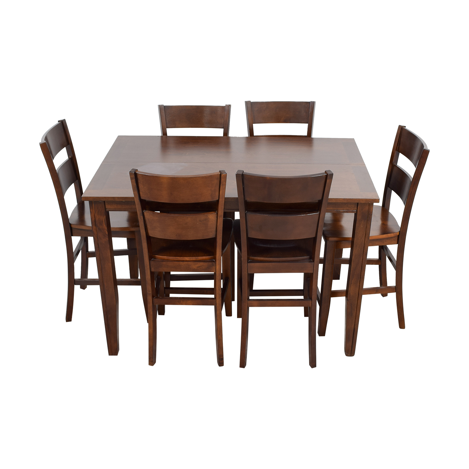 Bobs Furniture Bobs Furniture Wood Pub Dining Set second hand
