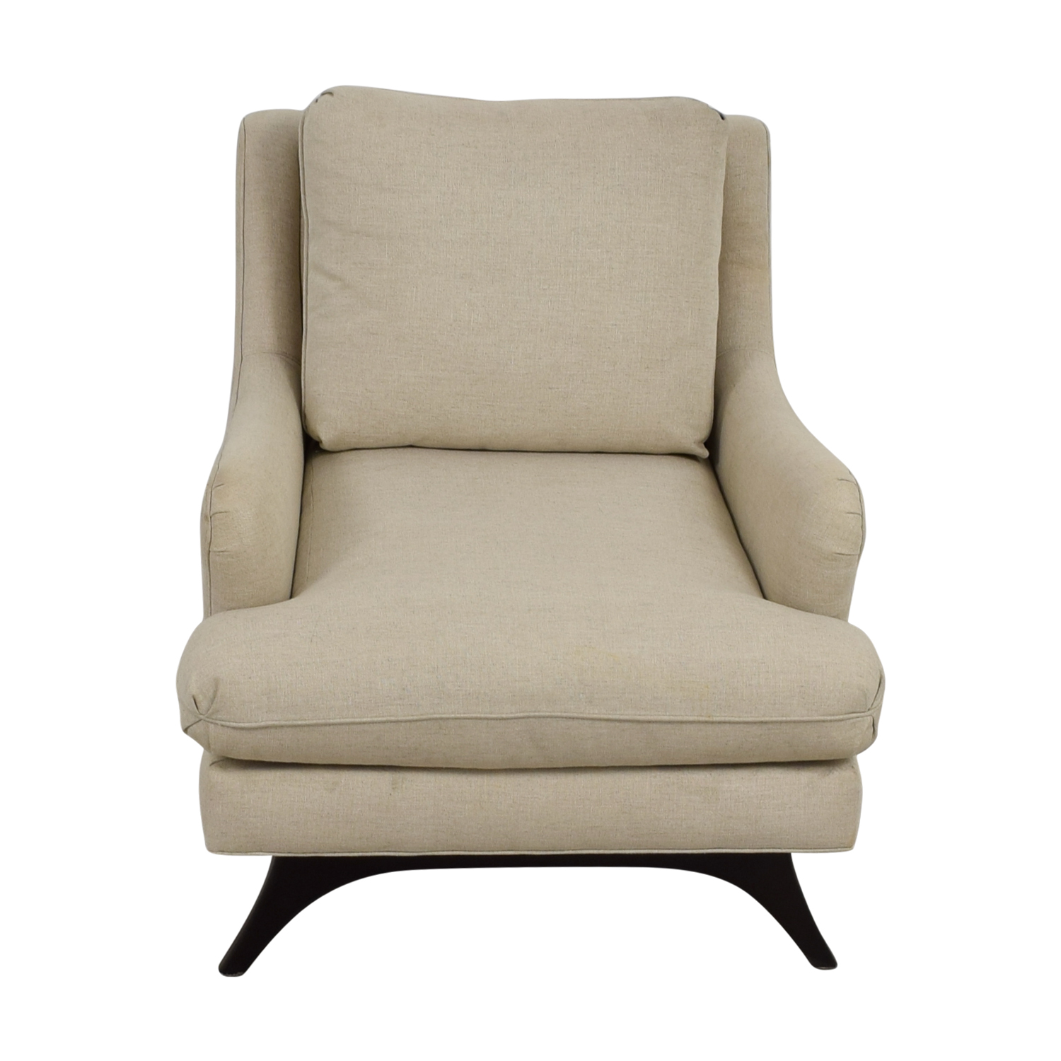 Younger Furniture Younger Furniture Mid Century Lewis Beige Accent Chair Chairs