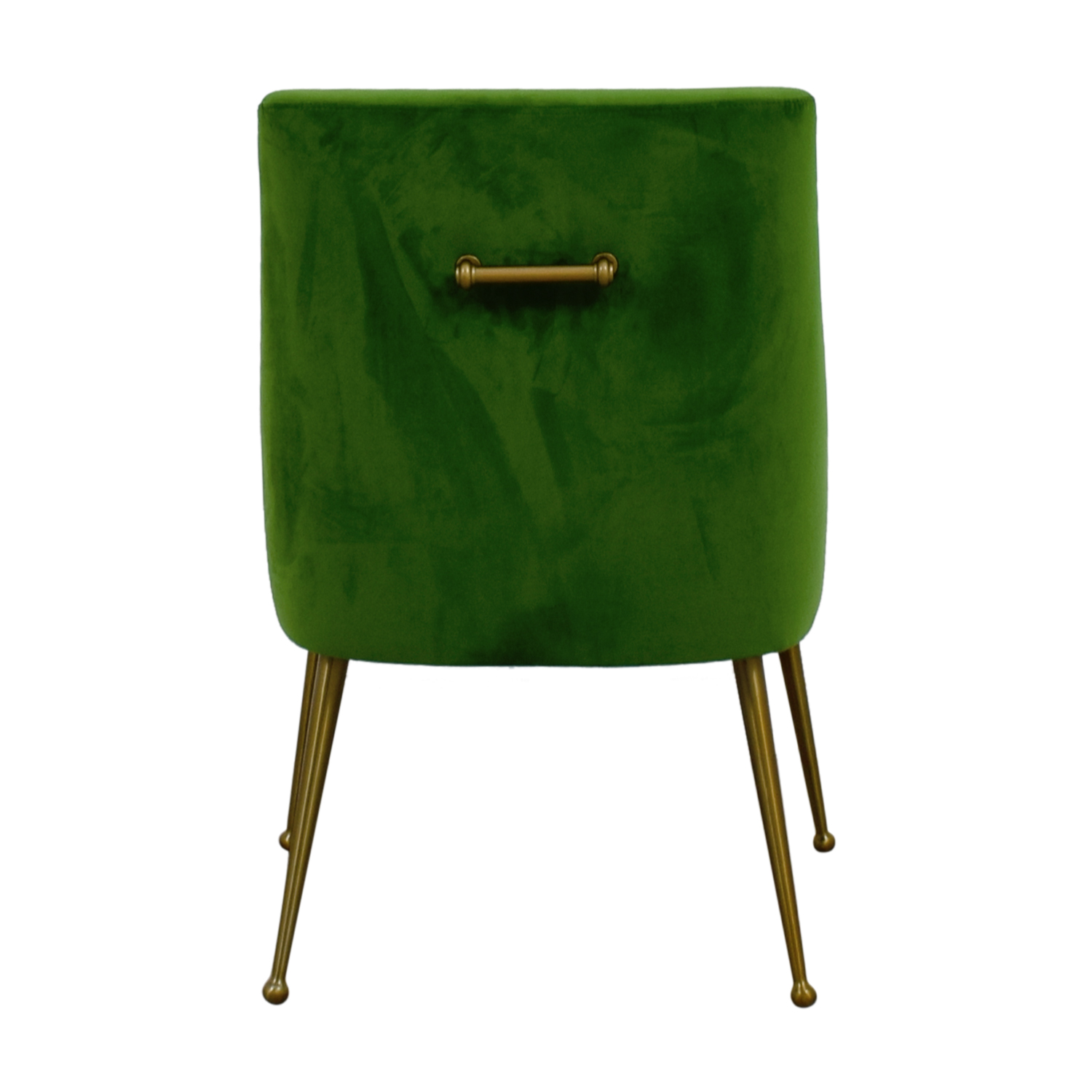 Tov Tov Green Velvet Accent Chair used