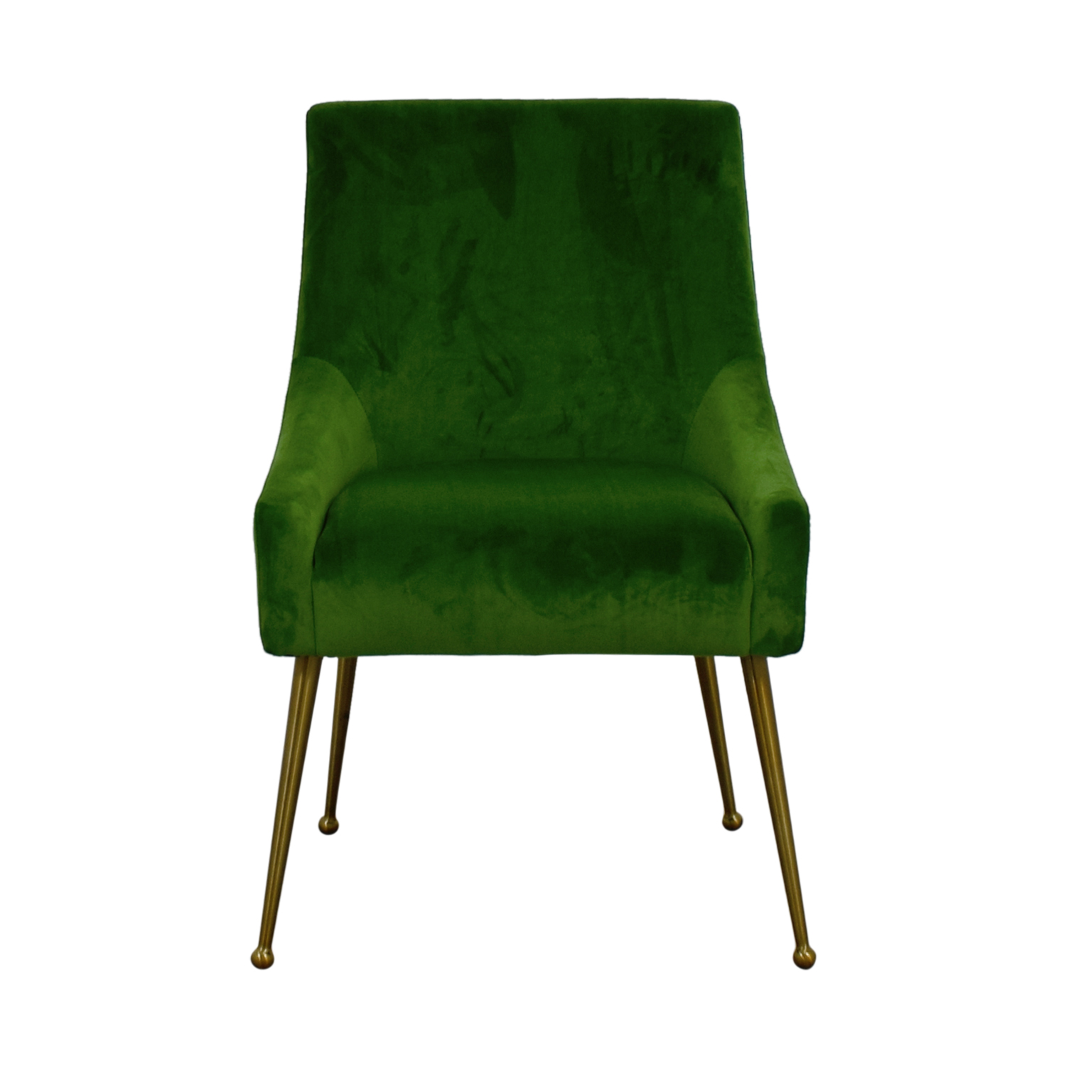 Tov Green Velvet Accent Chair / Chairs